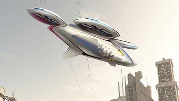 airbus is building a flying, autonomous taxi fleet so you never have to sit in a traffic jam again