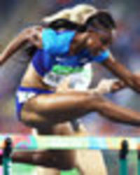 brianna rollins heads usa hurdles clean sweep as brit cindy ofili finishes fourth