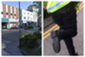 Lincoln High Street chase ends in arrest