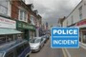 Sheerness High Street closed as police investigate reported...