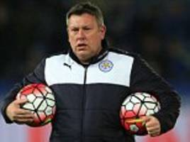 England manager Sam Allardyce adds Leicester coach Craig Shakespeare to backroom staff