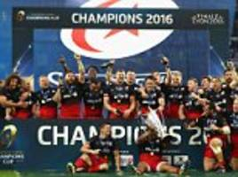 Saracens to begin defence of Champions Cup crown withmouth-watering opener away at Toulon