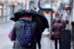 Met Office warns of potential travel problems as severe weather...