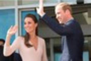 Wills and Kate are coming to visit!