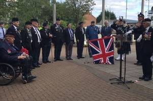 video: lanarkshire yeomanry pows are remembered at memorial service