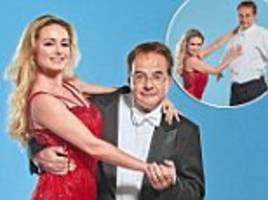 you're going to need a lot of balls, ed! as the former shadow chancellor joins strictly, his old westminster foe quentin letts discovers the cha-cha challenges ahead