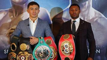 kell brook targets 'outrageous' win over gennady golovkin