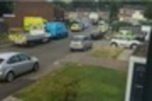 armed police descended on a street in chatham over 'concerns for...