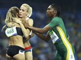 team gb's lynsey sharp claims it's difficult to race against caster semenya