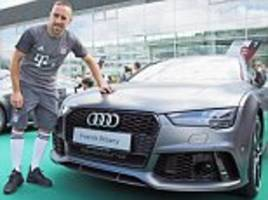Bayern Munich stars feel the need for speed ahead of the new Bundesliga season as Carlo Ancelotti's side pick up sponsored Audi cars