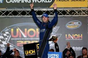Exclusive: Ben Kennedy talks about first Truck Series win