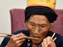 chinese great-grandmother fu suqing celebrates 119th birthday