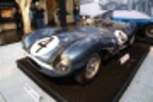 Le Mans-winning Jaguar D-Type sells for record $21.8 million in Monterey