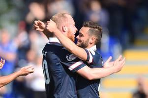 weekend verdict: good times back at celtic, no place for diving, gary locke's a star at raith rovers and the battle for league one title