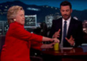 Watch Hillary Clinton Open A Can Pickles To Prove Her Strength & Vitality