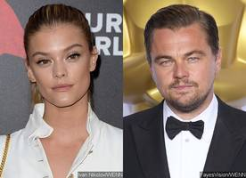 Nina Agdal Can't Keep Her Hands Off Leonardo DiCaprio as He Comforts Her After Car Accident
