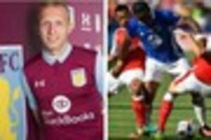 championship: seventh signing for aston villa - but it's not...