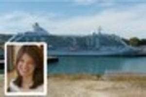 tragic and mysterious death aboard luxury cruise ship currently...