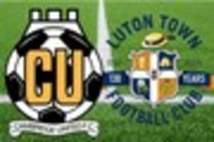 Cambridge News published Cambridge United v Luton Town now all-ticket