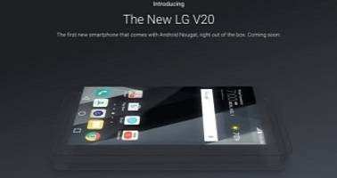 Google Confirms LG V20 As The First New Smartphone With Android Nougat