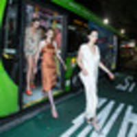 Models take the link bus