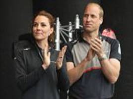 Kate Middleton, Prince William and Harry join the Queen in congratulating Team GB