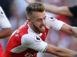 Arsenal youngster Calum Chambers made available on loan despite Arsene Wenger's lack of defensive options