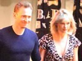Taylor Swift and Tom Hiddleston 'have first major fight' as rumors swirl two-month romance might be cooling