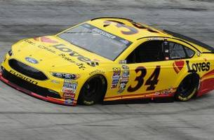Front Row Motorsports reveals Chris Buescher's Darlington throwback