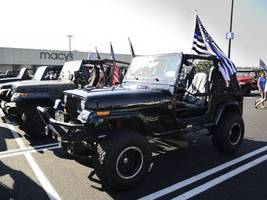 Back the Blue Jeep Ride Held in Gloucester County Honored Local Police Departments