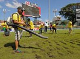 ICC demand answers over 'poor' Durban and Port of Spain outfields after rain affected Test matches in South Africa and the West Indies