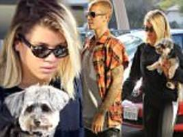 justin bieber reunites with sofia richie in la for her 18th birthday after getting close to beauty bronte blampied in the uk