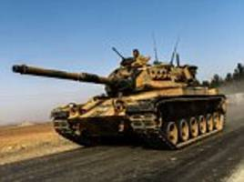 Turkey sends in the tanks: Ankara launches operation to free jihadist-held Syrian town as minister warns country is under attack from ISIS