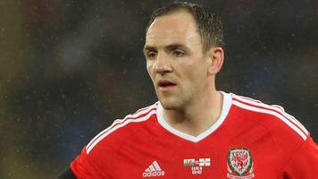 David Vaughan: Nottingham Forest midfielder retires from Wales duty