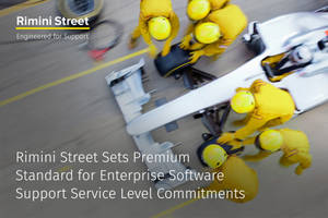 rimini street once again sets new premium standard for enterprise software support service level commitments