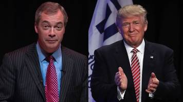 farage imports brexit values to trump rally