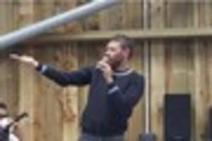 crowds flock to see strictly come dancing  contestant will young...