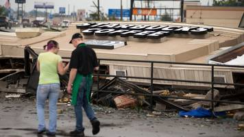 tornadoes tear down buildings and cut power in indiana