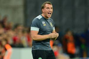 brendan rodgers thrilled by celtic's return to the champions league despite long night in israel