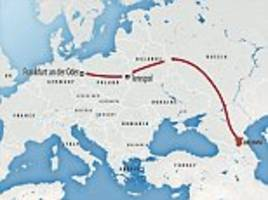 europe's new frontier: fears isis sympathisers are among thousands of chechen migrants exploiting 'unmanned' border between poland and germany