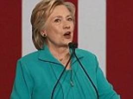 Hillary Clinton attacks Brexit leader Nigel Farage for campaigning with Trump