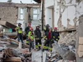 'Ninety per cent we pull out are dead, but some make it, that's why we are here': Rescuers' pursuit to find Italian earthquake casualties alive - as survivors camping out are rocked by 4.5-magnitude aftershock