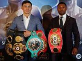 boxing has changed and what a year we've got ahead... kell brook and gennady golovkin lead the way with some superb fights on the cards