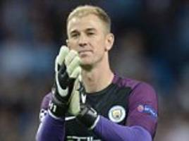 joe hart is heading for the manchester city exit as pep guardiola searches for his ball-playing goalkeeper... but how do the other premier league stoppers rate in the distribution stakes?