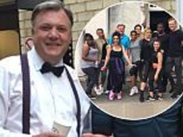 Ed Balls admits he's struggling to find his rhythm ahead of Strictly Come Dancing