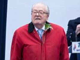 french far-right veteran jean-marie le pen to field candidates against daughter's national front party as he claims 'it is not what it used to be'