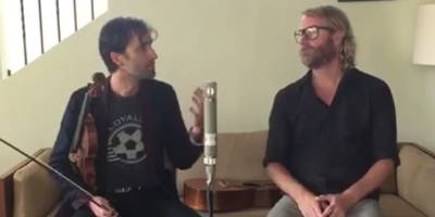 watch the national's matt berninger and andrew bird cover lou reed
