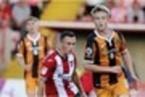 hull city debuts for greg olley and jarrod bowen will be night...