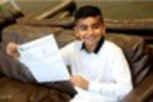 11-year-old Beeston boy gets A in GCSE Maths