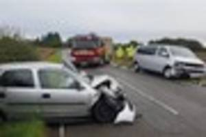 Police called to crash on A161 this morning
